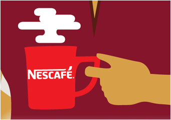 Nestlé Professional Koffie monitor